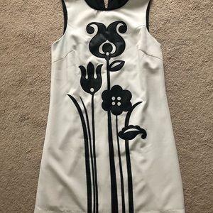 Victoria Beckham for Target Black and white dress